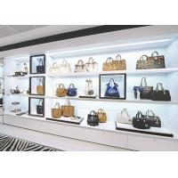 Quality Boutique Handbag Display Shelves / Store Display Cabinet Disassembly Structure wholesale
