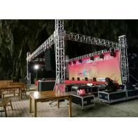 China Digital Control Stage Lighting Truss Accessories , 1 - 12m Span Aluminum Triangle Truss on sale