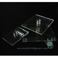 Quality CD (102) 3 tier acrylic square cake stand wholesale