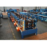 Quality Auto Width Adjust Purlin Roll Forming Machine 100 - 400mm CZ Purlins Producing Use wholesale