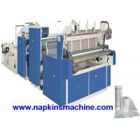 Quality 3 Layer Toilet Tissue Roll Slitting Rewinding Machine For Paper Making wholesale