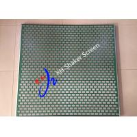Quality Hookstrip ALS Shale Shaker Screen With Metal For Solid Control / Flat Mud Separator wholesale
