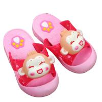 Quality Toddler Closed Toe House Slippers Dripping Print Pattern Type Synthetic Sole wholesale