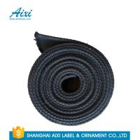 Quality Black Fabric Casual Belt 100% Woven Printing Cotton Webbing Straps wholesale