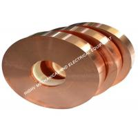Quality Electric Industry Copper Foil Strip ASTM C11000 Grade Pure Copper Red Color wholesale