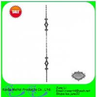Quality forged iron  baluster for iron window grills,fence wholesale
