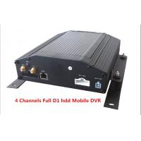 Quality Digital Video Recorder 4Ch Full D1 HDD & SD Card Car Mobile DVR Support GPS 3G / WIFI wholesale