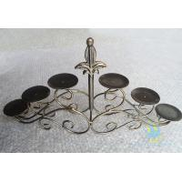 Quality CH-30-2 etched Acrylic hurricane candle holders wholesale