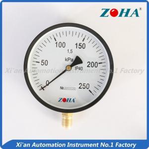 China industrial air pressure gauge on sale