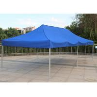 Quality Blue 3x6 Pop Up Gazebo Canopy Screen Printing Easy Carry For Market Advertising wholesale