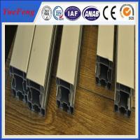China Hot! manufacture aluminum alloy extrusion profiles, color anodized aluminum extrusion on sale
