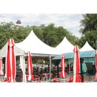 Quality PVC Coated Fabric High Top Outdoor Party Tent 10x20m , 6005 Aluminum Frame Tent wholesale