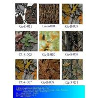 China Camouflage Water Transfer Printing Film For Hunting on sale