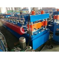 China 914-610 Type Long Span Curving Roof Panel Roll Forming Machine PLC Control System on sale