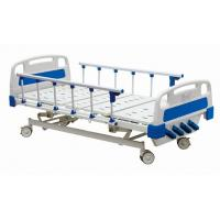 Quality Temporary Manual Hospital Bed Equipment With Four Revolving Crank 700 mm Height wholesale