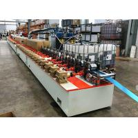 Quality PU Foaming Roller Shutter Door Roll Forming Machine European 77 Type Usage wholesale