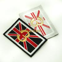 Quality Individual Iron On Backing Clothing Embroidered Patches Custom Design Skin Friendly wholesale