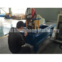 Quality Metal Door Frames Roll Forming Machine GCR 15 Roller Material wholesale