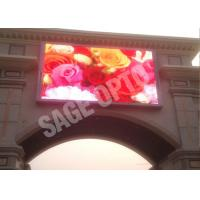 Quality 6mm Full Color Outdoor Advertising LED Display , 1R1G1B LED Full Color Display wholesale