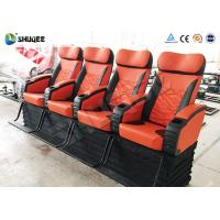 Quality Electronic 4d Theater System Movie Theater Equipment 4 Seats With Vibration wholesale