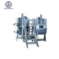 Quality Durable Craft Beer Brewing Equipment 0-80 KW Thickness 2.0-3.0 Mm Rockwool Insulation wholesale