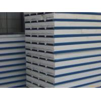 Quality PU Insulated Sandwich Panels Prefab Industrial Metal Corrugated Roofing Sheets wholesale