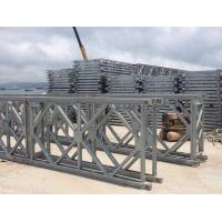 Quality Prefabricated Q345B Single Lane Bridge , Hot Dip Galvanized Steel Bridge wholesale