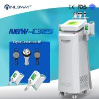 Quality Hot sale 5 handles cryolipolysis fat freeze slimming machine , cool lipo weight loss combine cavitation, RF vacuum wholesale