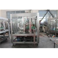Quality 5000BPH Carbonated Drink Filling Machine Backup Pressure Juice Bottling Line wholesale