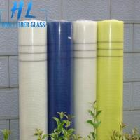 Quality 5x5mm 80GSM 60GSM Fiberglass Products Fabric Alkali resistant Fiberglass Mesh Rolls For Mosaic wholesale