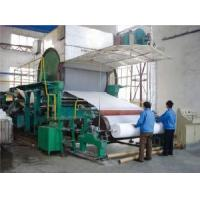 Quality 1092mm Tissue Paper Machine wholesale
