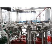 Quality Automated Commercial Carbonated Drink Filling Machine 2000 BPH 380V 2000KG wholesale