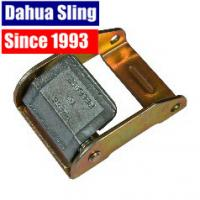 Quality 2 Inch Zinc Cam Buckle Ratchet Strap Parts , Breaking Strength 2500 Lbs wholesale