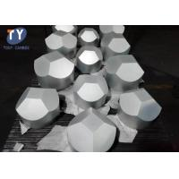 Quality 6 Facet Anvil Tungsten Carbide Blanks , Cemented Carbide Blanks ISO Cetificate wholesale