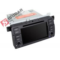 Quality Original Car User Interface BMW E46 Sat Nav Double Deck Car Stereo Built In 10 Wallpapers wholesale