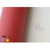 Quality 700gsm 0.8mm Silicone Coated Fiberglass High Silica Cloth For Fire Blanket wholesale