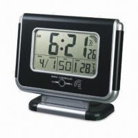 China LCD Clock with FM Radio and Wireless Doorbell, Measures 262 x 91 x 219mm on sale