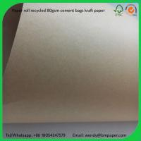 Quality BMPAPER White Coated Kraft Liner/ Paperboard  for cement bags wholesale