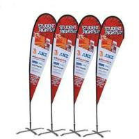 Quality Custom printing Feather Flag Banners for exhibition and promotion wholesale