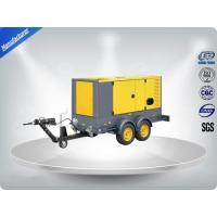 Quality 50 Hz Water - Cooling Silent Genset Trailer 16 Cylinder Prime Power 1480Kw wholesale