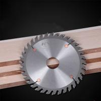 China Durable Sharpen TCT Saw Blade For Wood Grooving Natural Color LR+F Tooth on sale