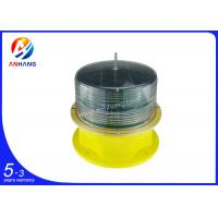 Quality Integrated solar-powered low intensity aircraft warning lights ,L-810 aviation obstruction lamps wholesale