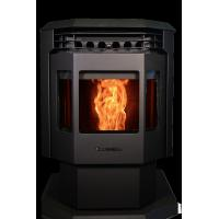 Quality Bay Front Big Hopper Size Smart Control Wood Pellet Stove with Self-design Color wholesale