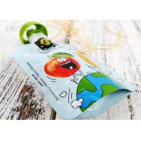 Quality Reusable Baby Food Spout Pouch Bag High Barrier Multi Colors Custom Printing wholesale