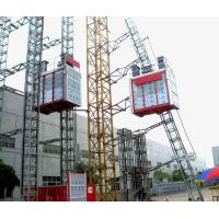Quality S4 Work System Building Site Hoisting Equipment In Construction with ABB Motor and 8 Rack Modulus wholesale