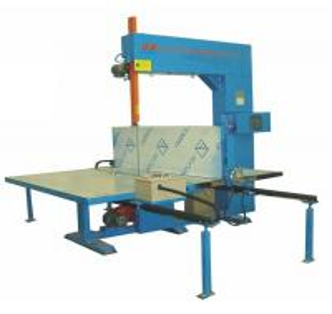 Quality Manual Semi - Automatic EPE Vertical Foam Cutting Machine For Pillow / Foam Sheet wholesale