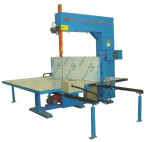 Quality Semi - Automatic Sponge Cutting Machine , 1200 mm EVA EPE Foam Cutting Equipment wholesale