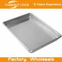 China High quality non-stick bread baking sheet-stainless steel rectangular tray-Perforated Corrugated Baking Trays on sale