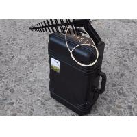 China 150w RF Low Power Hand Held Anti Drone Jammer 0.3g To 5.8g Jamming Frequency on sale