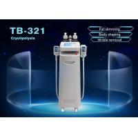 Buy cheap 5 Handle Cryolipolysis Slimming Machine Fat Removal Skin Tighten For Face and Body from wholesalers